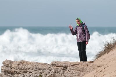 Die Wellen waren wirklich beeindruckend!