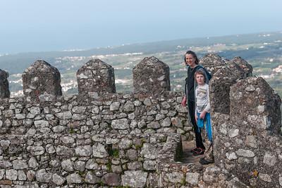 Von den Mauern der Burg hat man eine tolle Aussicht.