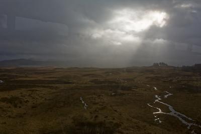 Hier sind wir im schottischen Hochland auf etwa 350m.