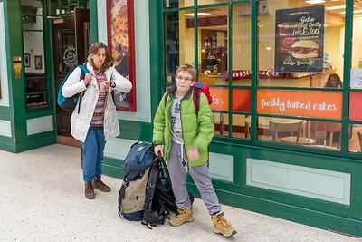 Vor der Abfahrt in Aberdeen haben wir noch schnell was zu Essen eingekauft.