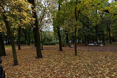Ein schöner Park, um sich von den Strapazen zu erholen.