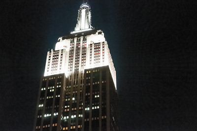 Das Empire State Building.