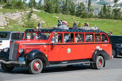 Eine geführte Tour in einem der roten Busse wäre bestimmt auch nett gewesen.
