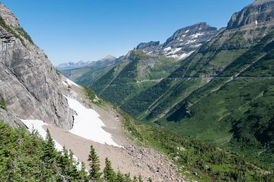 Der Logan Pass liegt auf 2025m.