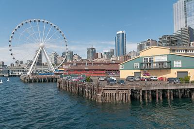 Die einzige touristische Aktivität heute war eine Hafenrundfahrt.