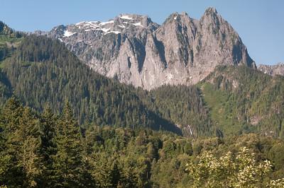 """Auf der Fahrt von Glacier Park nach Seattle gab es noch viel zu sehen. Am Ende hatten wir sogar ein paar Ranger dabei, die viel erzählten (""""trail and rail"""")."""