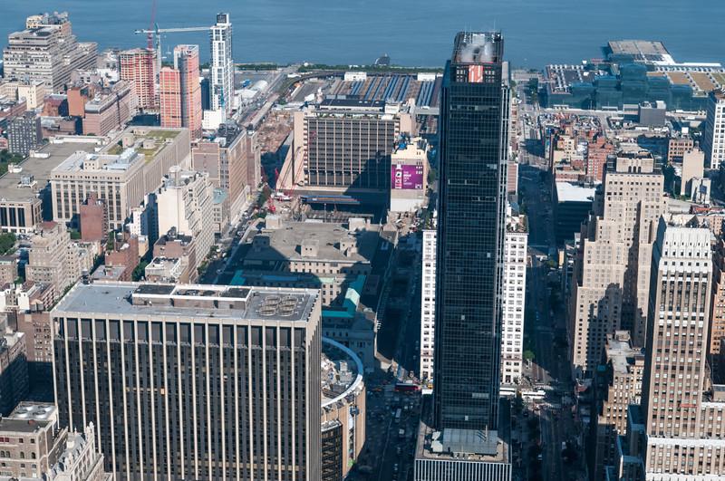 Madison Square Garden und die Penn Station, wo wir morgen in den Zug steigen.