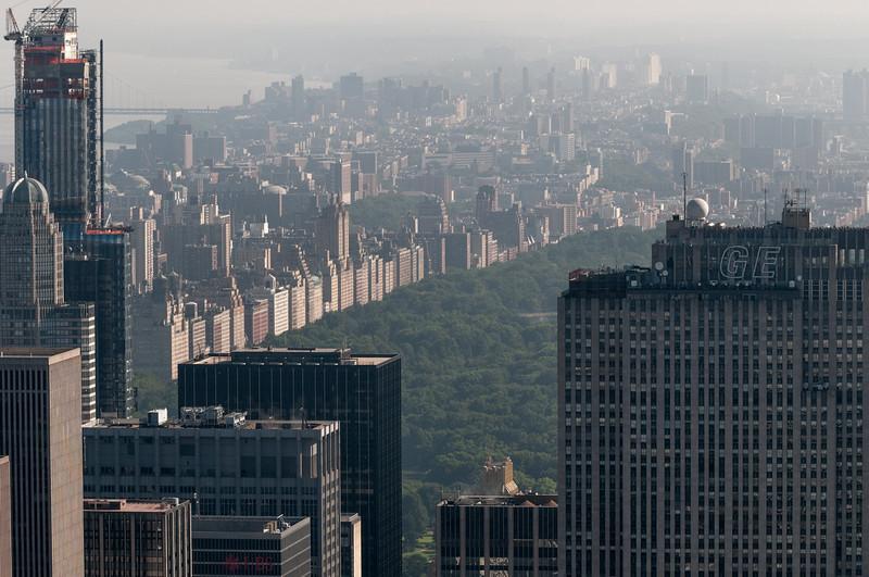 Der Central Park ist riesengross.