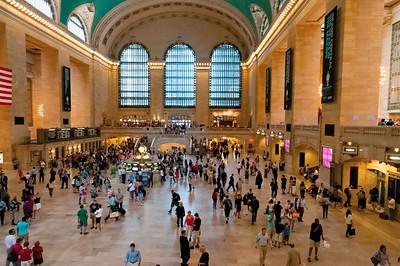 Der Grand Central Terminal, ein eindrucksvoller Bahnhof.