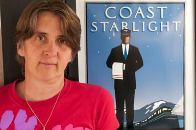 Coast Starlight, der Name unseres Zuges.