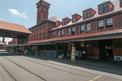 Der Bahnhof von Portland.