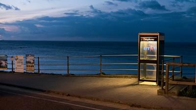 Telefonzellen gibt es in England noch.