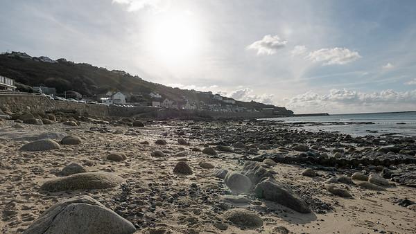 In Sennen Cove haben wir uns dann direkt am Strand ein Zimmer genommen.