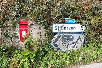 Die nationalen Radwege in England schein gut ausgeschildert zu sein.