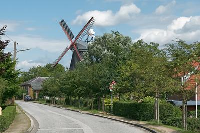 Diese Mühle wird noch regelmässig betrieben. Leider nicht als wir da waren.