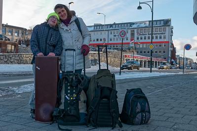Gegen 10 Uhr sind wir in Bodø gelandet.