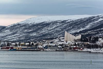 Am Nachmittag kamen wir dann in Tromsø an.