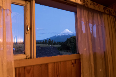 Wir können ihn direkt aus unserem Zimmer sehen!