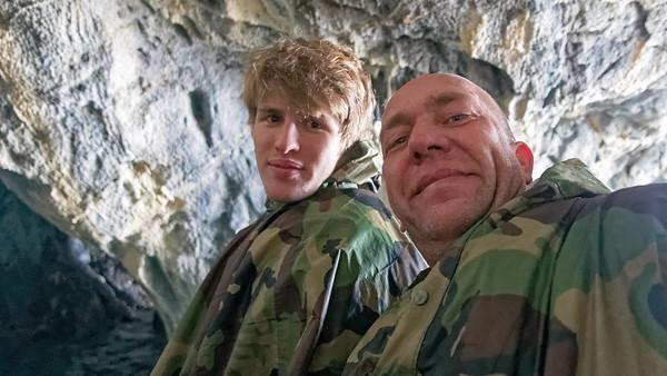 Die Marble Caves am Lago General Carrera (Lago Argentino in Argentinien). Hier ist Douglas Tomkins, der Gründer von North Face, 2015 beim Kanufahren umgekommen. Douglas Tomkins war ein bekannter Umweltaktivist und hat in Chile riesige Nationalparks gegründet.
