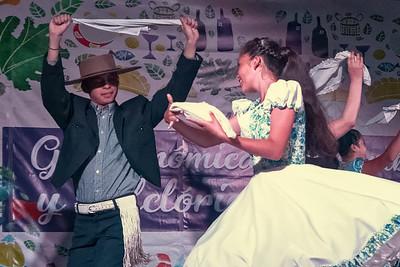 In Ancud waren wir auf einem Volksfest.