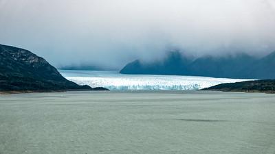 Der Gletscher Perito Moreno westlich von El Calafate.