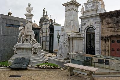 Der Friedhof in Recoleta ist bei Touristen sehr beliebt.