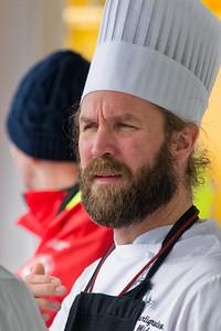 Unser schwedischer Koch.