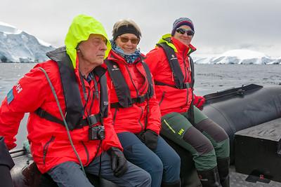 Die Melchior Islands haben wir mit dem Tenderboot erkundet.