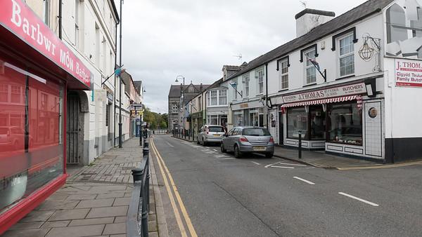 Llangefni ist eine kleine Stadt mitten auf der Insel Anglesey.