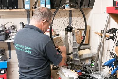 Die Räder hat dewi allerdings selber eingespeicht.