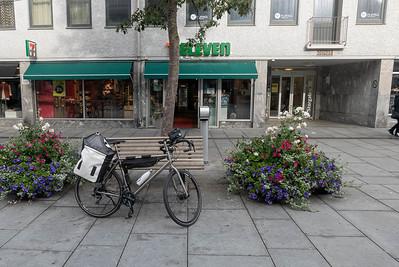 In Bodø habe ich noch kurz gefrühstückt und dann gings los nach Fauske.