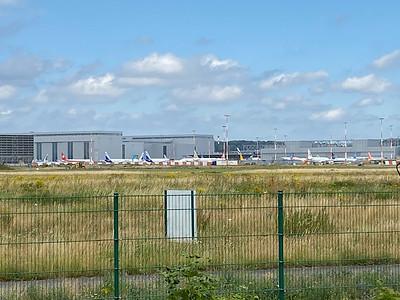 In Finkenwerder hatten die Airbus Angestellten gerade von neuen Entlassungen erfahren.