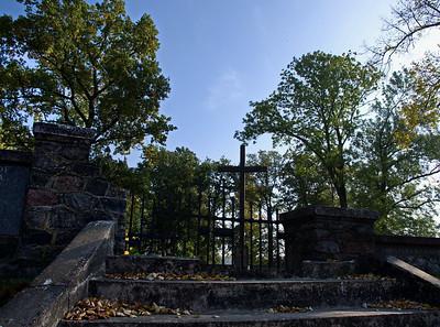Martinshagen / Marcinowa Wola - Friedhof vom 1. Weltkrieg (Russen und Deutsche)