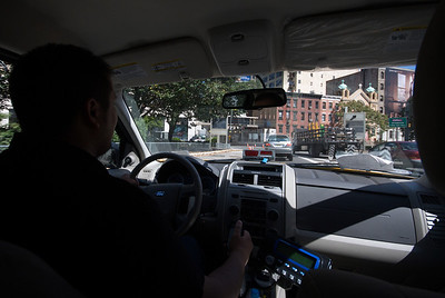 Taxi drive to Hampton Inn, Secaucus-Meadowlands NJ