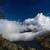 Der Tungurahua will sich nicht zeigen