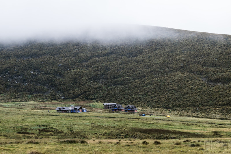 Chimborazo Lodge von Marco Cruz, 3960 m