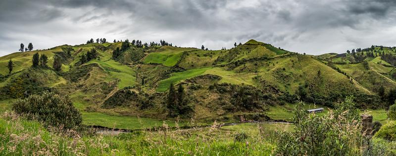 auf dem Rückweg zur Chimborazo Lodge