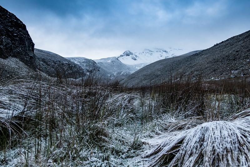 Schnee am anderen Morgen