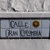 Cuenca, die typischen Strassenschilder