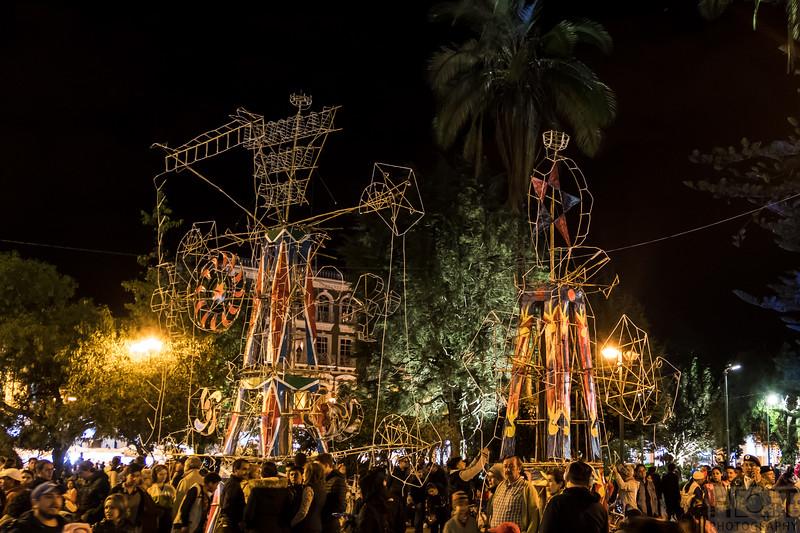 Fiesta de la Musica, mit Feuerwerk