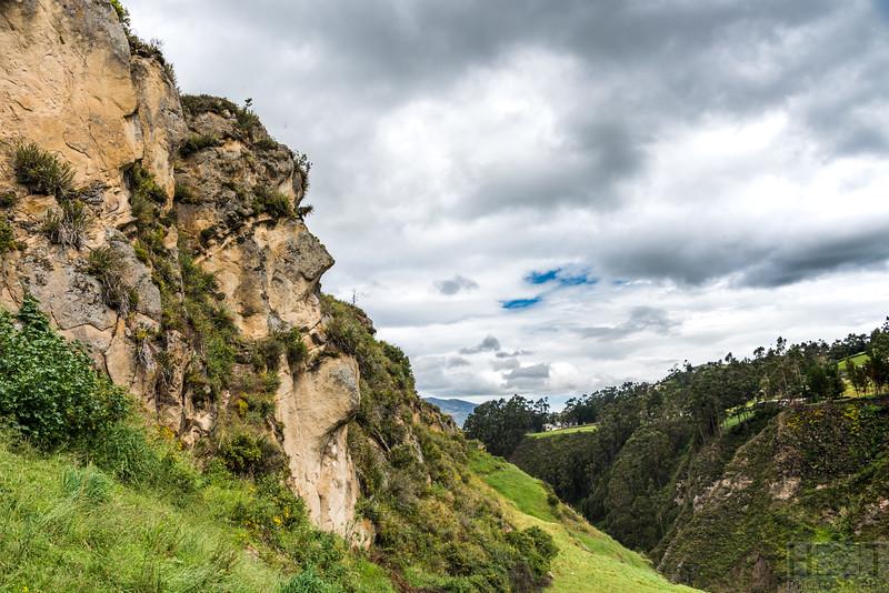 Rund um Ingapirca, Cara del Inca