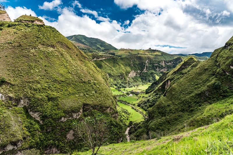 unterwegs via Sigchos nach Quilotoa, immer etwa auf 3000 m