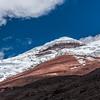 Wanderung zum neuen Refugio Jose Rivas auf 4864  m