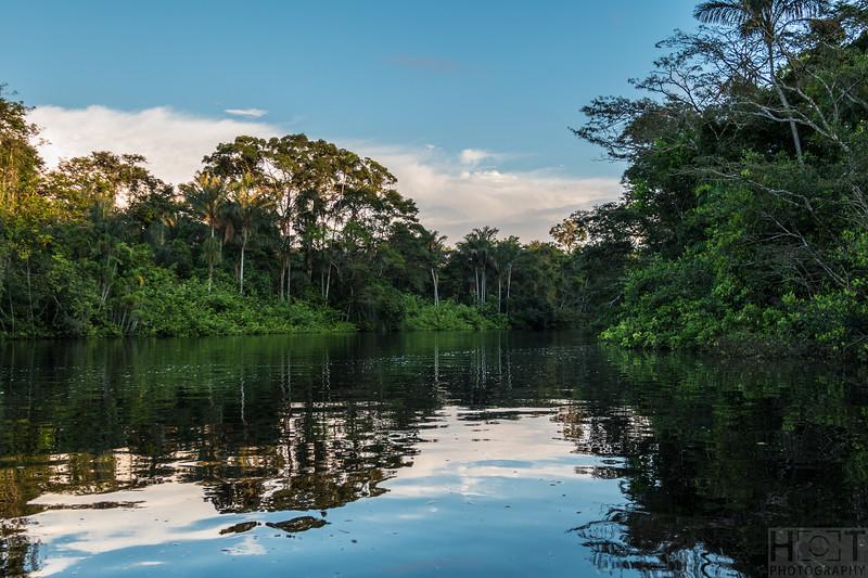 Guyabeno River (nahe Laguna Grande)