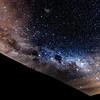 Nachthimmel über der Chimborazo Lodge