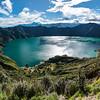 Wanderung zum Kratersee , 380 Höhenmeter