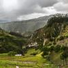 Regen in wunderschöner Landschaft auf 3500 m