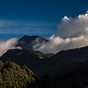 Der Tungurahua präsentiert sich doch noch im Abendlicht