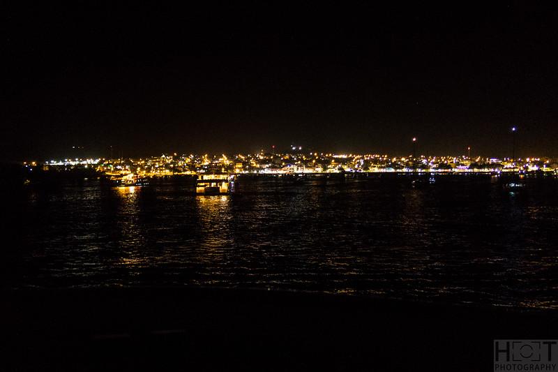 Unsere 1. Nacht auf der Treasure of Galapagos