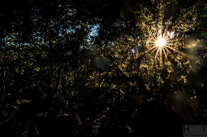 Sonnenaufgang in Mindo Lindo